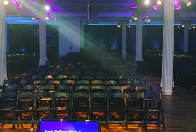 View from the stage at IxD17